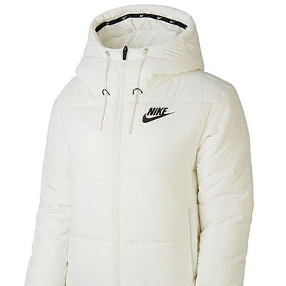 Nike Jackets & Blazers - NWT Nike Women's Heavyweight White Puffer Jacket